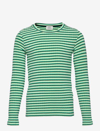5x5 Stripe Talika - langärmelig - multi pastel green