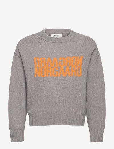 Recy Soft Knit Tilonina - pullover - light grey melange