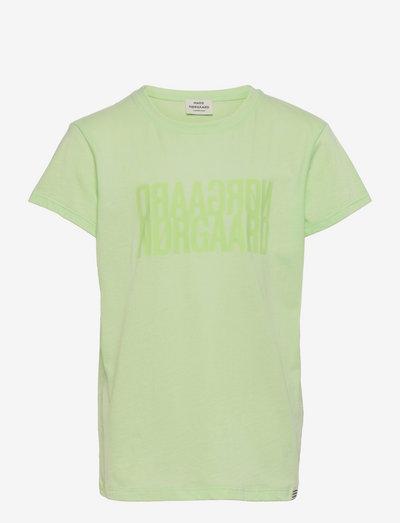 Single Organic Tuvina - kortærmede - pastel green
