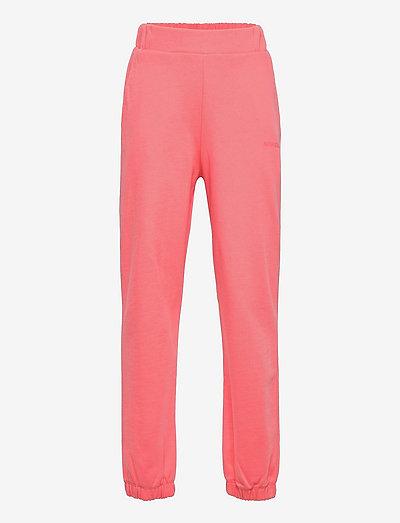 Organic Sweat Pattina - joggings - strawberry pink