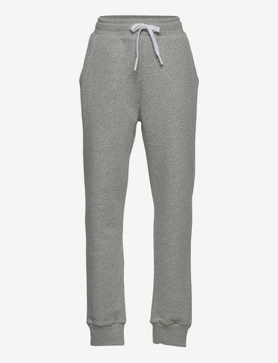Organic Sweat Poro - jogginghosen - grey melange