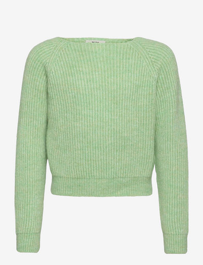 Hairy Rib Kanuni - sweatshirts - pastel green