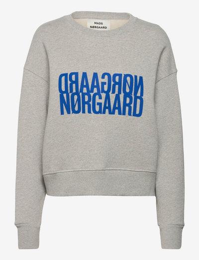 Organic Sweat Tilvina Sweat - sweatshirts & hoodies - light grey melange