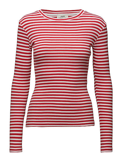 2x2 soft stripe Tuba - WHITE/RED
