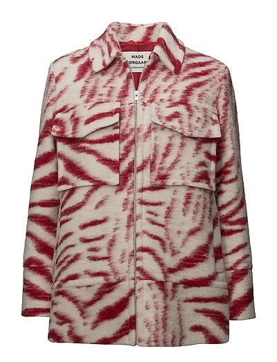 Zoo wool Cenna - RED/ECRU