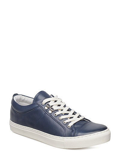 Leather Sneak Madson - NAVY