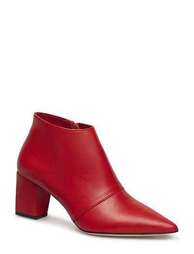 Fine Leather Antone - BRIGHT RED