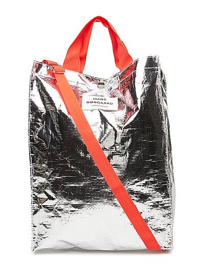 Töte Bag H - SILVER/RED