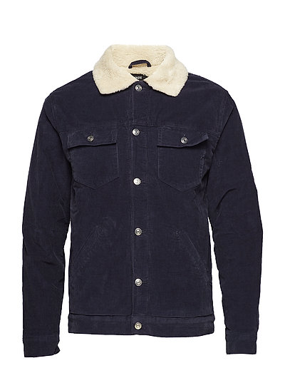Sherpa Cord Jacket Zaggy - SKY CAPTAIN