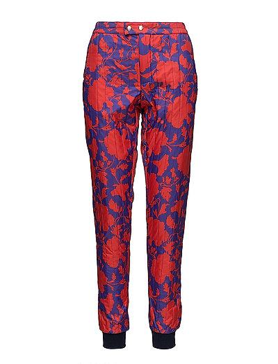 Liberty quilt Pansas - RED/BLUE