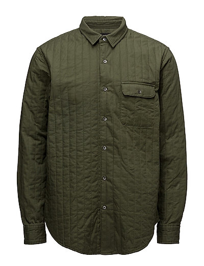 Quilt Shirt Skals - RIFLE GREEN