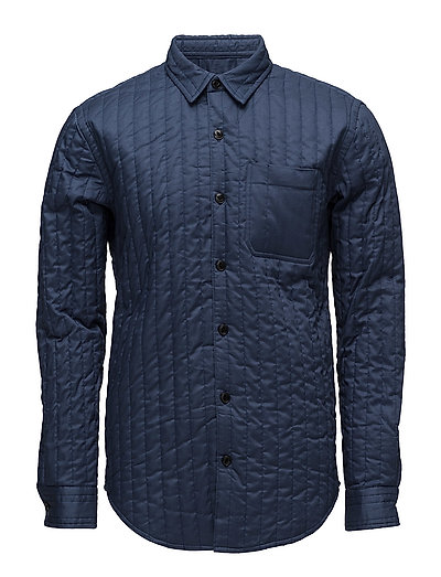 Quilt Shirt Skols - DARK DENIM