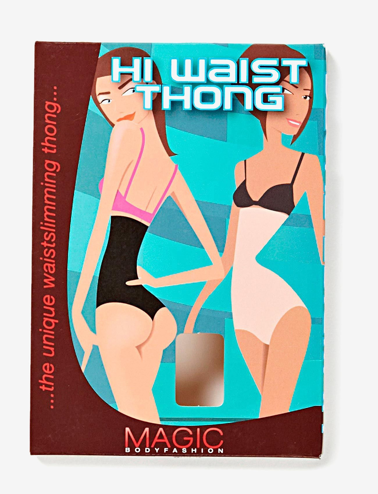 Magic Bodyfashion - Hi Waist Thong - bottoms - skin