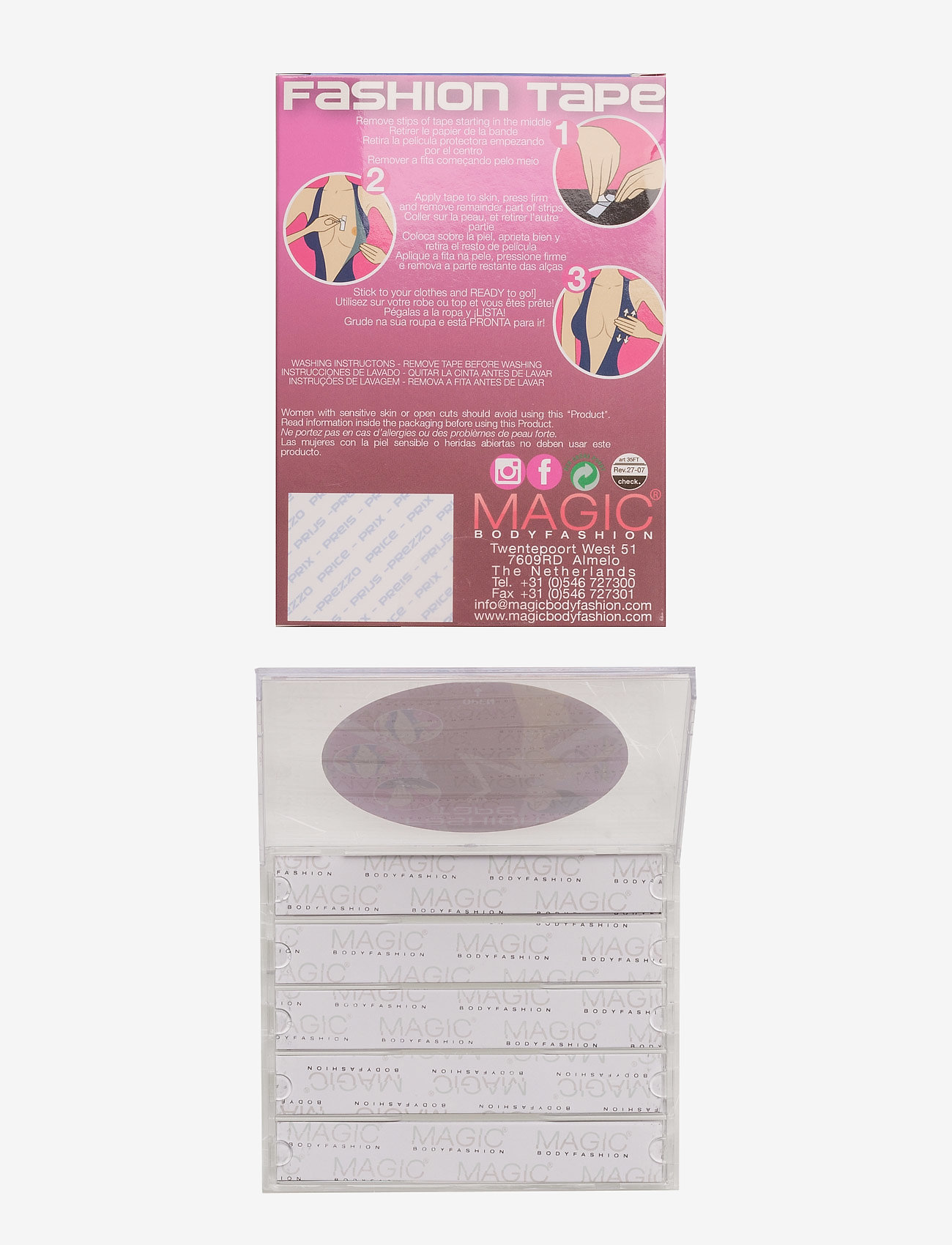 Magic Bodyfashion - Fashion Tape - transparent - 1
