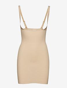 Maxi Sexy Dress - tops - latte