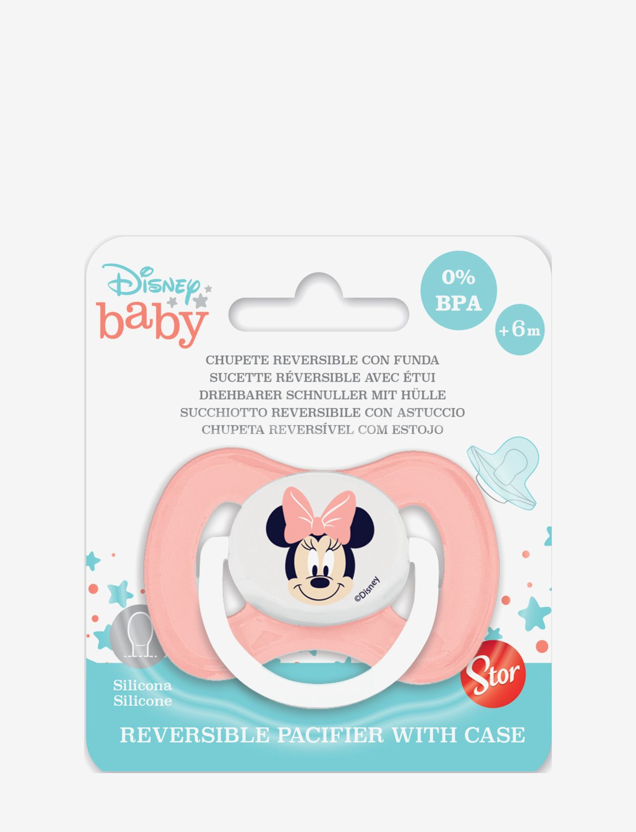 Disney Baby symetrical pacifier silicone +6m Minnie