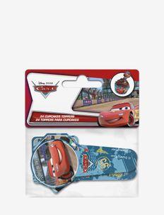 Disney Cars Bakery Paper topper - 24 pcs - cuisine et pâtisserie - multi coloured
