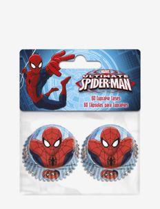 SpiderMan Bakery Mini Cupcake - pk a 60 pcs - bakning & matlagning - multi coloured