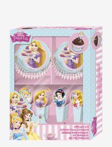 Disney Princess Bakery Cupcake -set with toppers - cuisine et pâtisserie - multi coloured