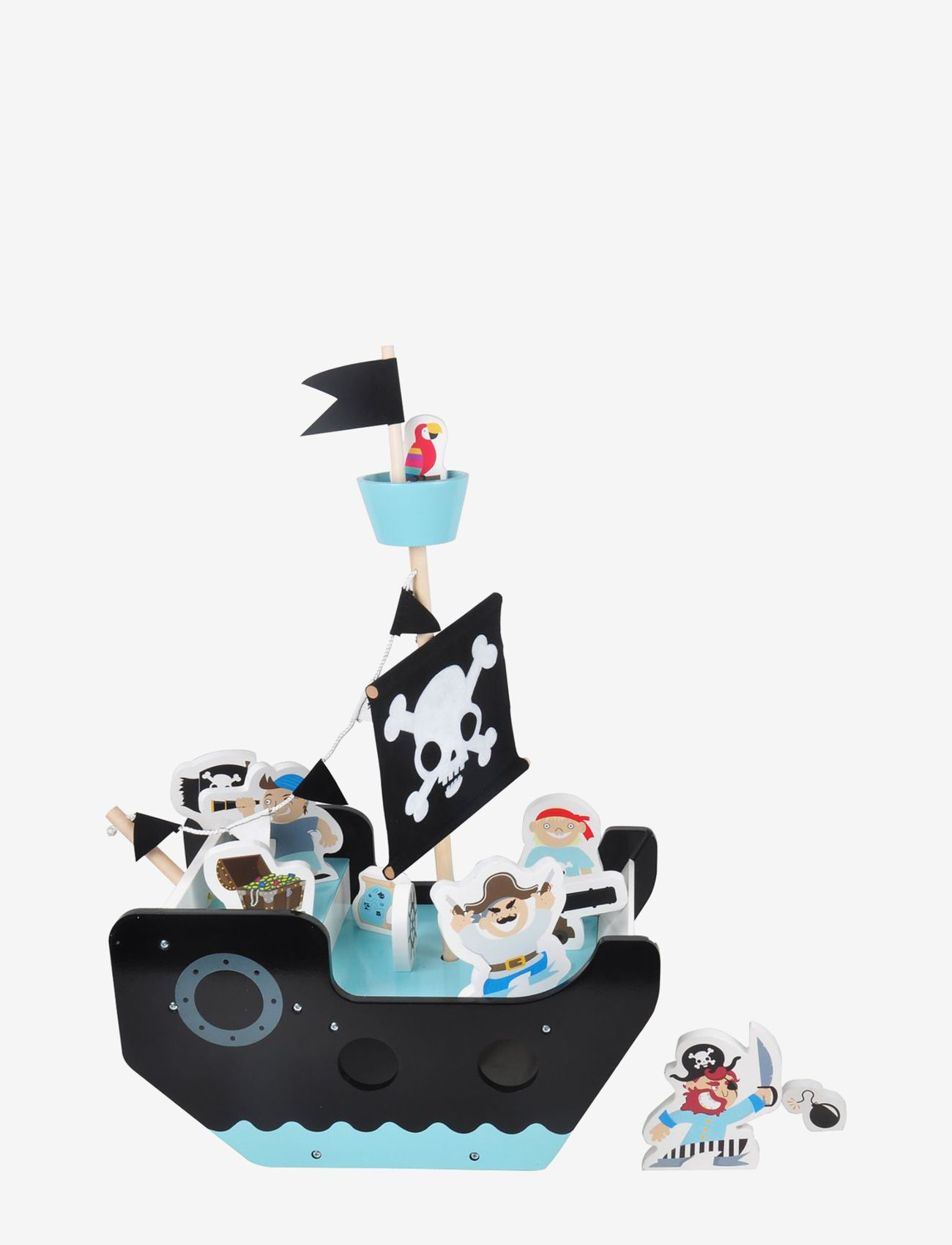 Pirate Ship with 11 figures