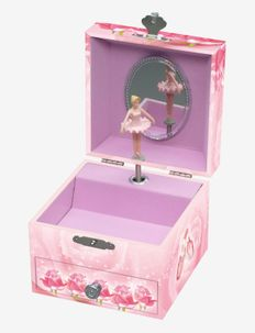 Jewelry box with ballerina and music - förvaring - pink