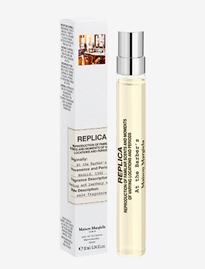 Replica At The Barbers Edt 10 ml - CLEAR