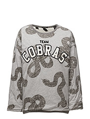 Reversible allover printed sweat - COMBO B 18