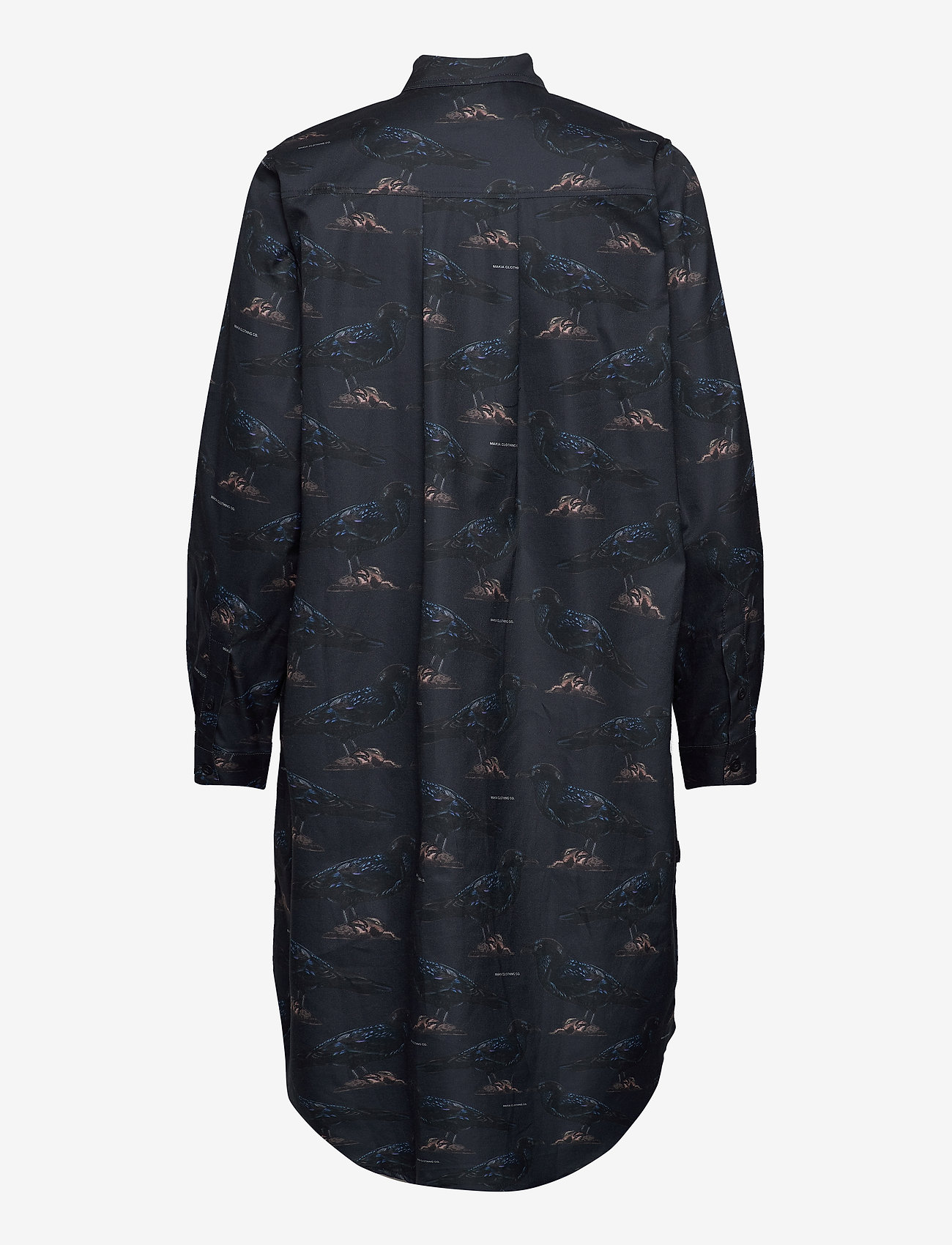 Makia - Raven Shirt Dress - skjortekjoler - dark blue - 1