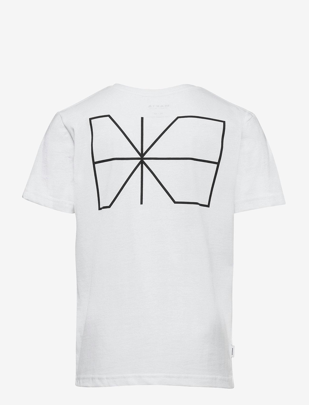 Makia - Trim T-Shirt - korte mouwen - white - 1