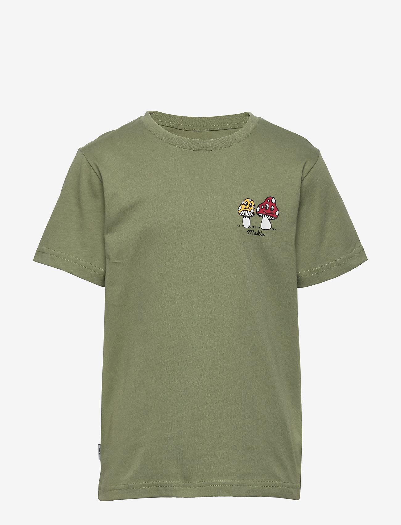Makia - Spor T-Shirt - korte mouwen - olive - 0
