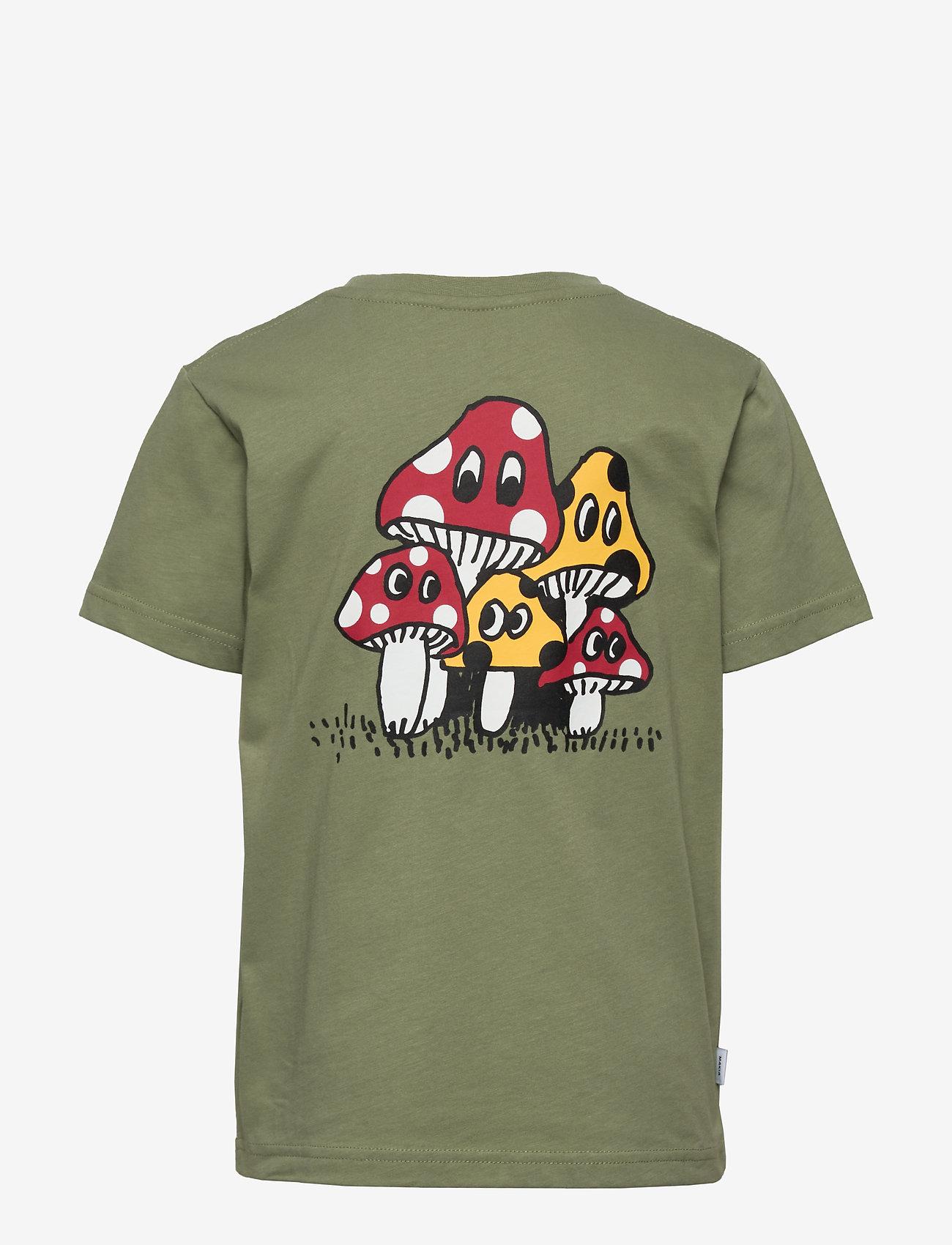 Makia - Spor T-Shirt - korte mouwen - olive - 1