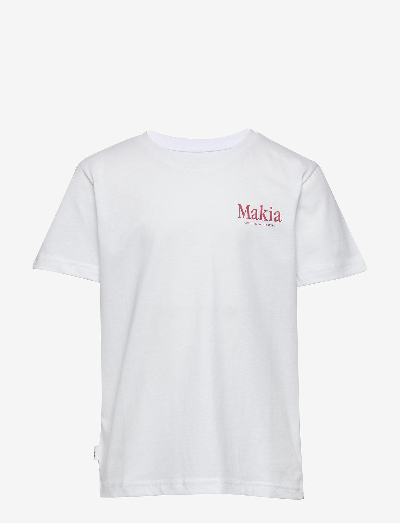 Makia - Madeira T-Shirt - korte mouwen - white - 0