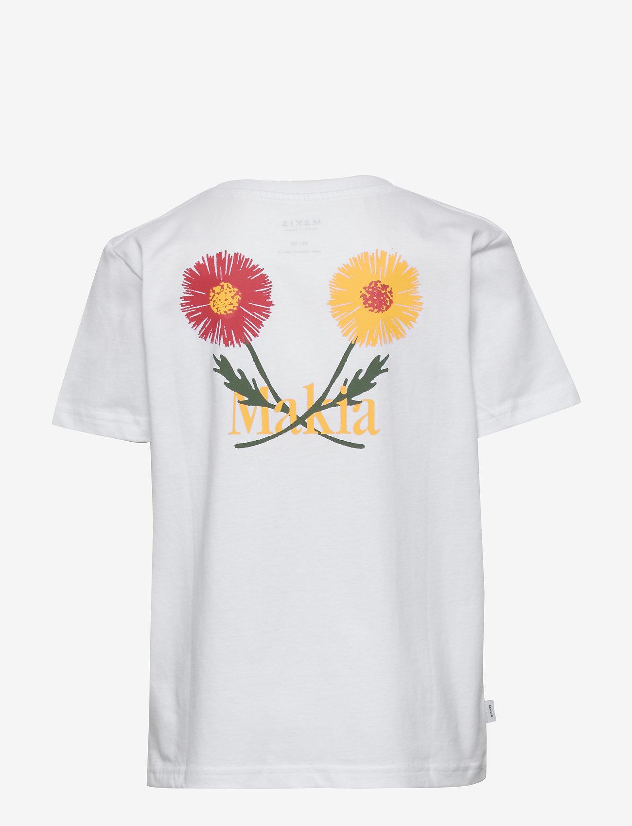 Makia - Madeira T-Shirt - korte mouwen - white - 1