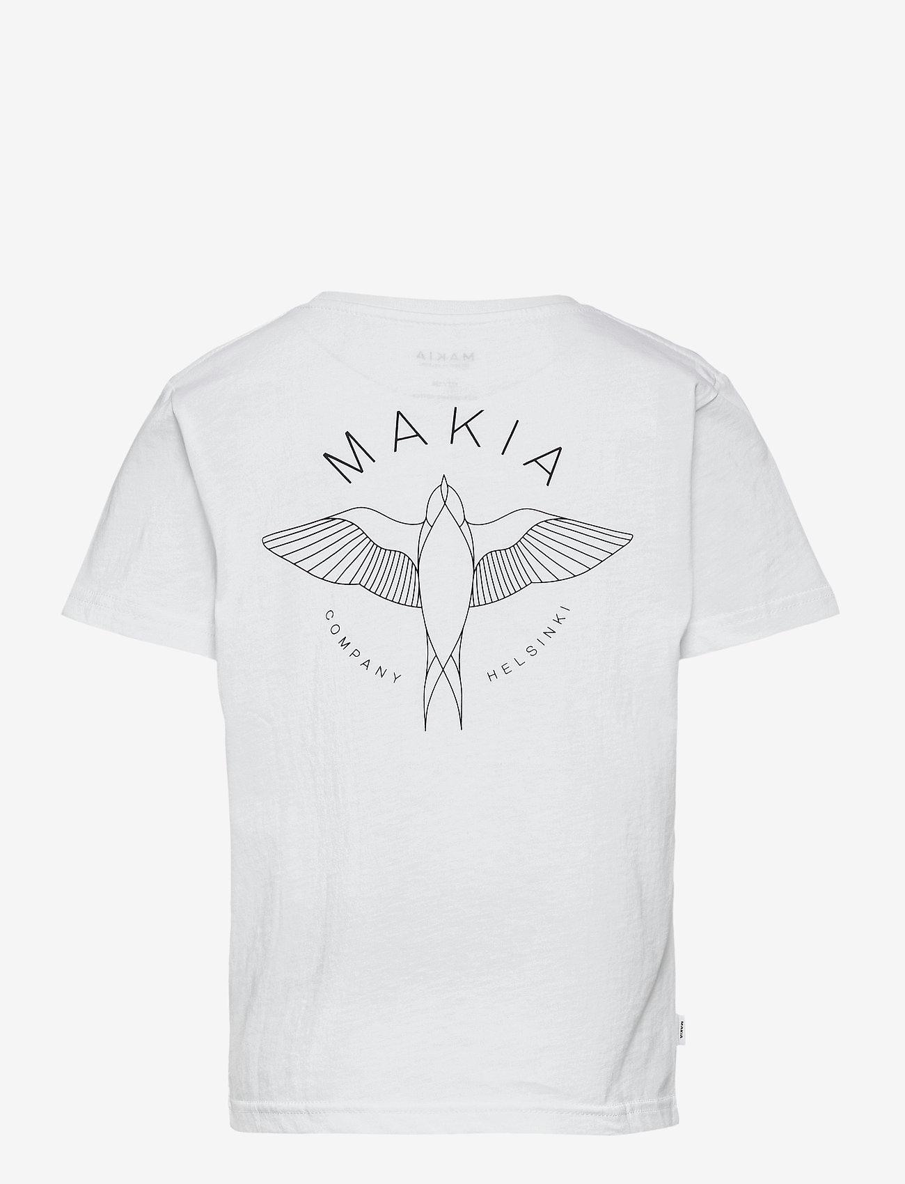 Makia - Swallow T-Shirt - korte mouwen - white - 1
