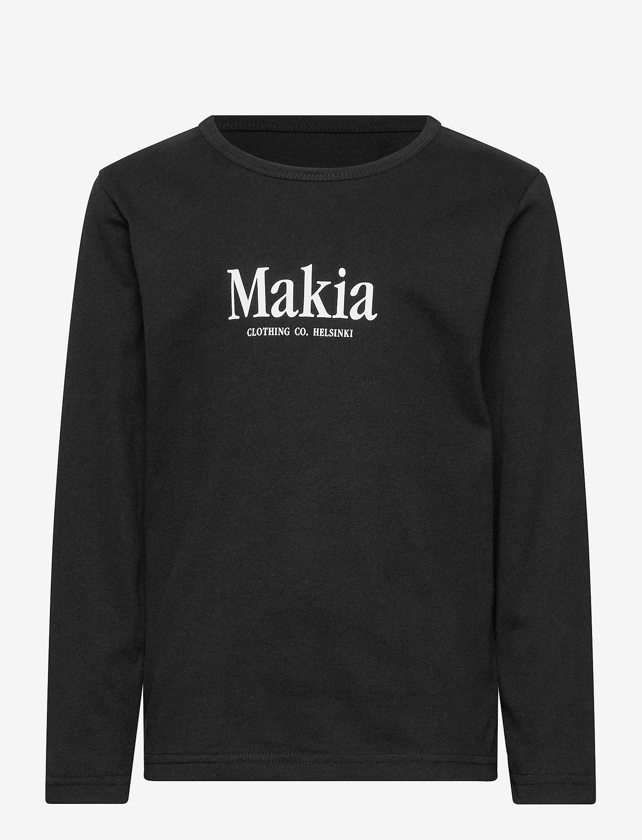 Makia - Strait Long Sleeve - lange mouwen - black - 0