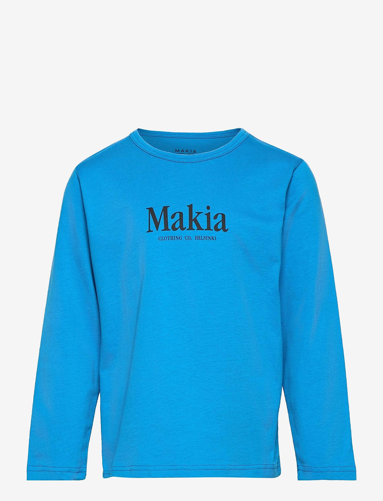 Makia - Strait Long Sleeve - langärmelig - french blue - 0