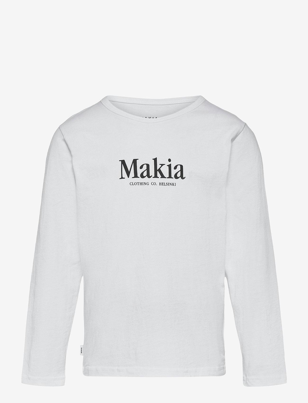 Makia - Strait Long Sleeve - lange mouwen - white - 0