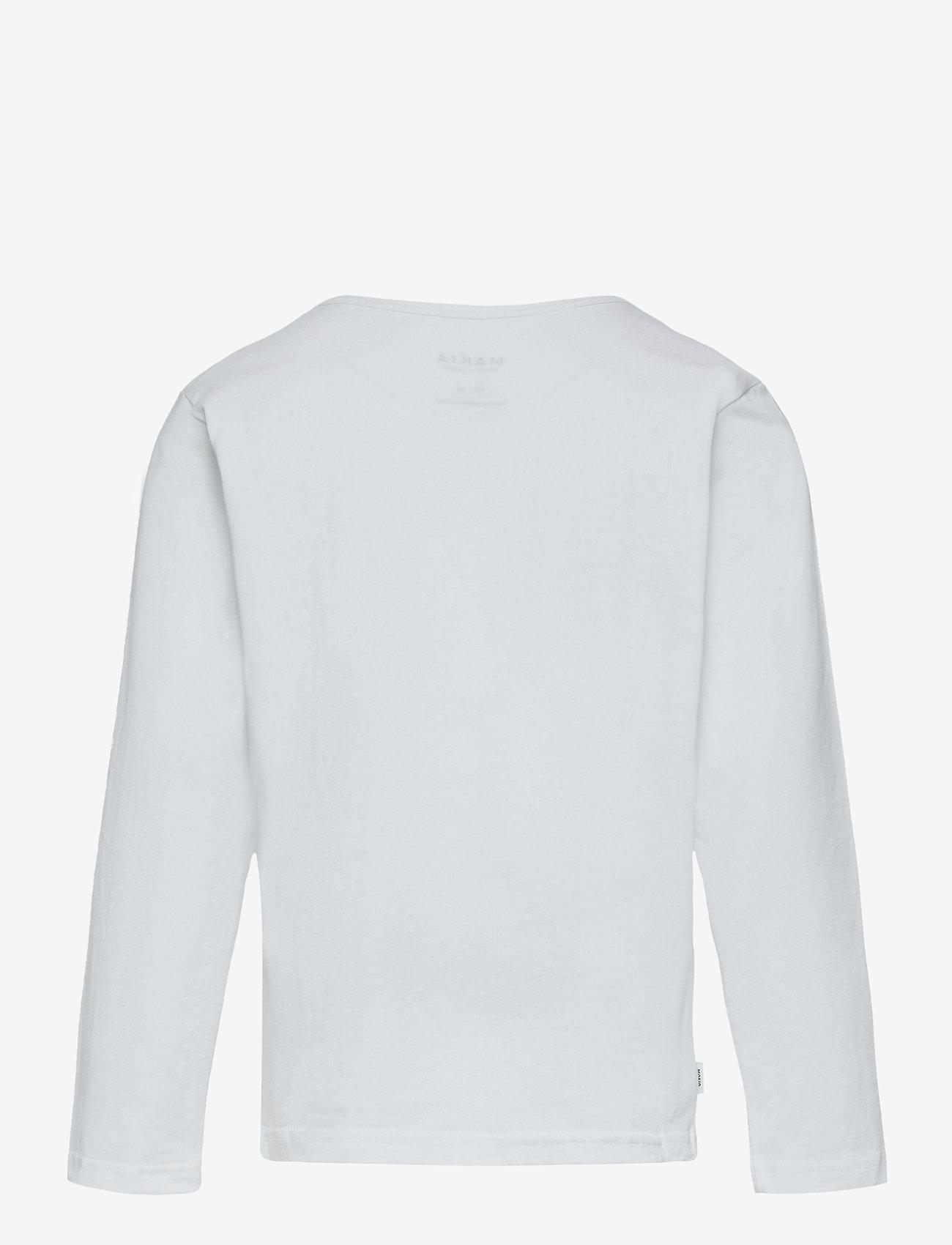 Makia - Strait Long Sleeve - lange mouwen - white - 1