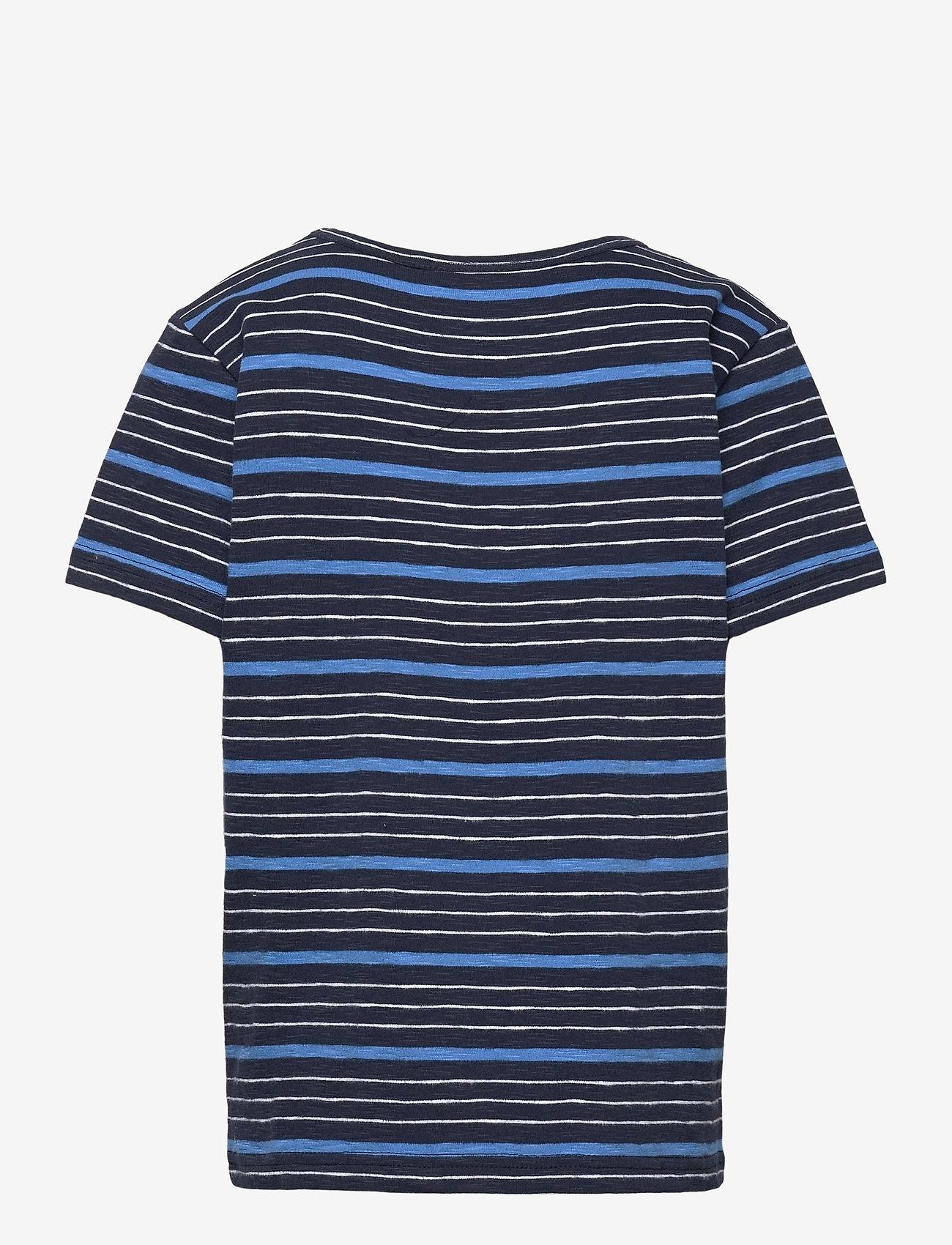 Makia - Joshua T-Shirt - korte mouwen - french blue - 1