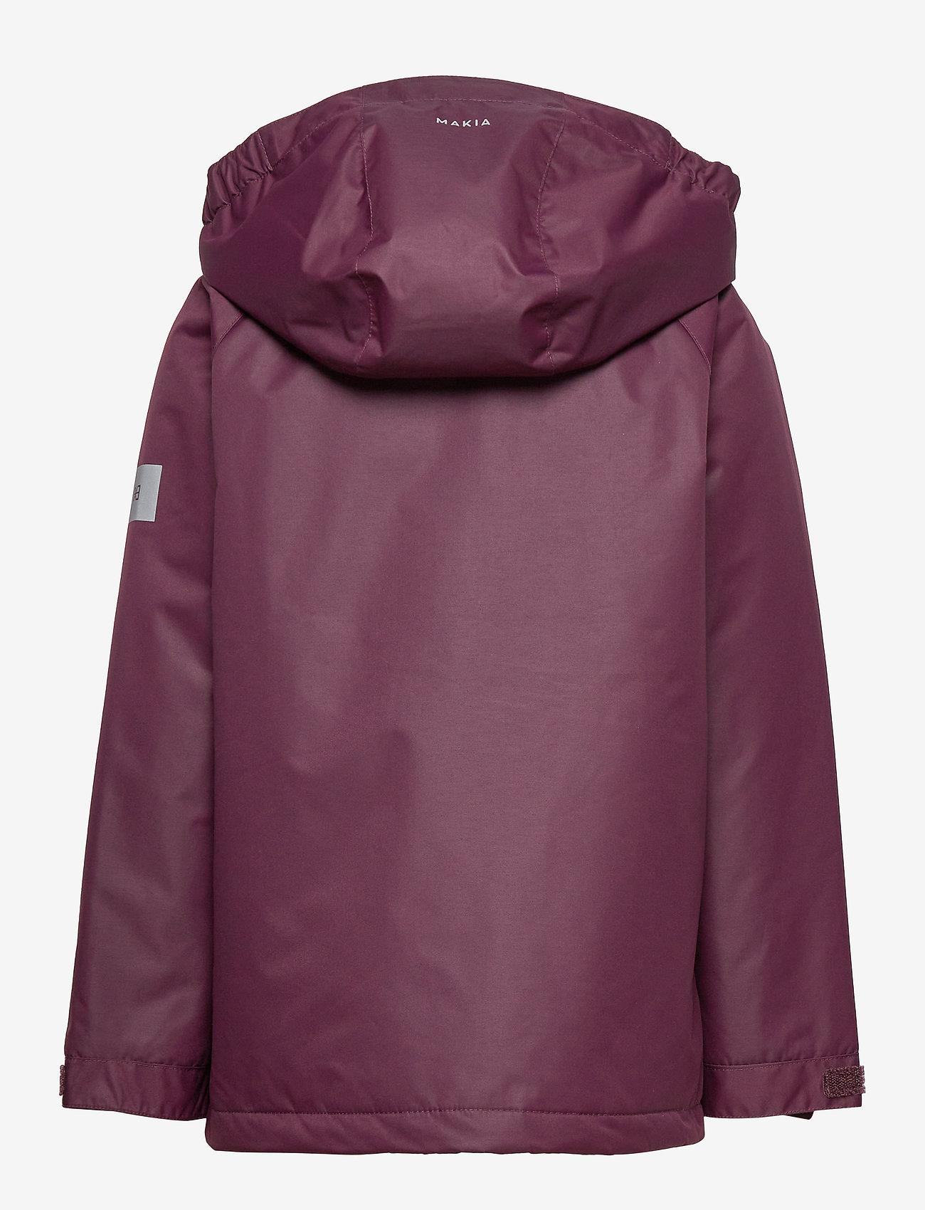 Makia - Polar Jacket - parkas - wine - 1