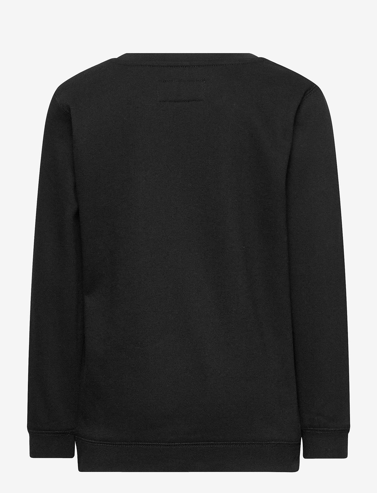 Makia - Flint Sweatshirt - sweatshirts - black - 1