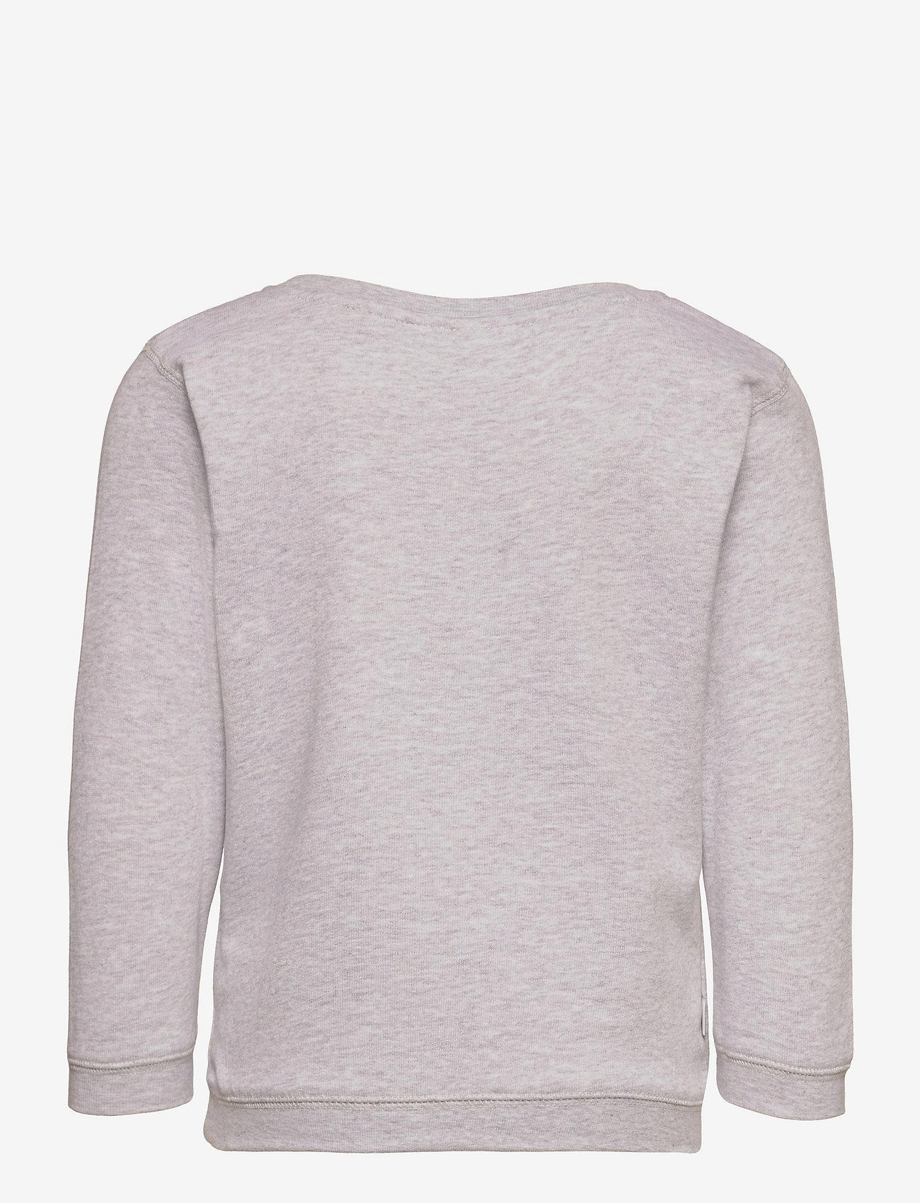 Makia - Trident Sweatshirt - sweatshirts - light grey - 1