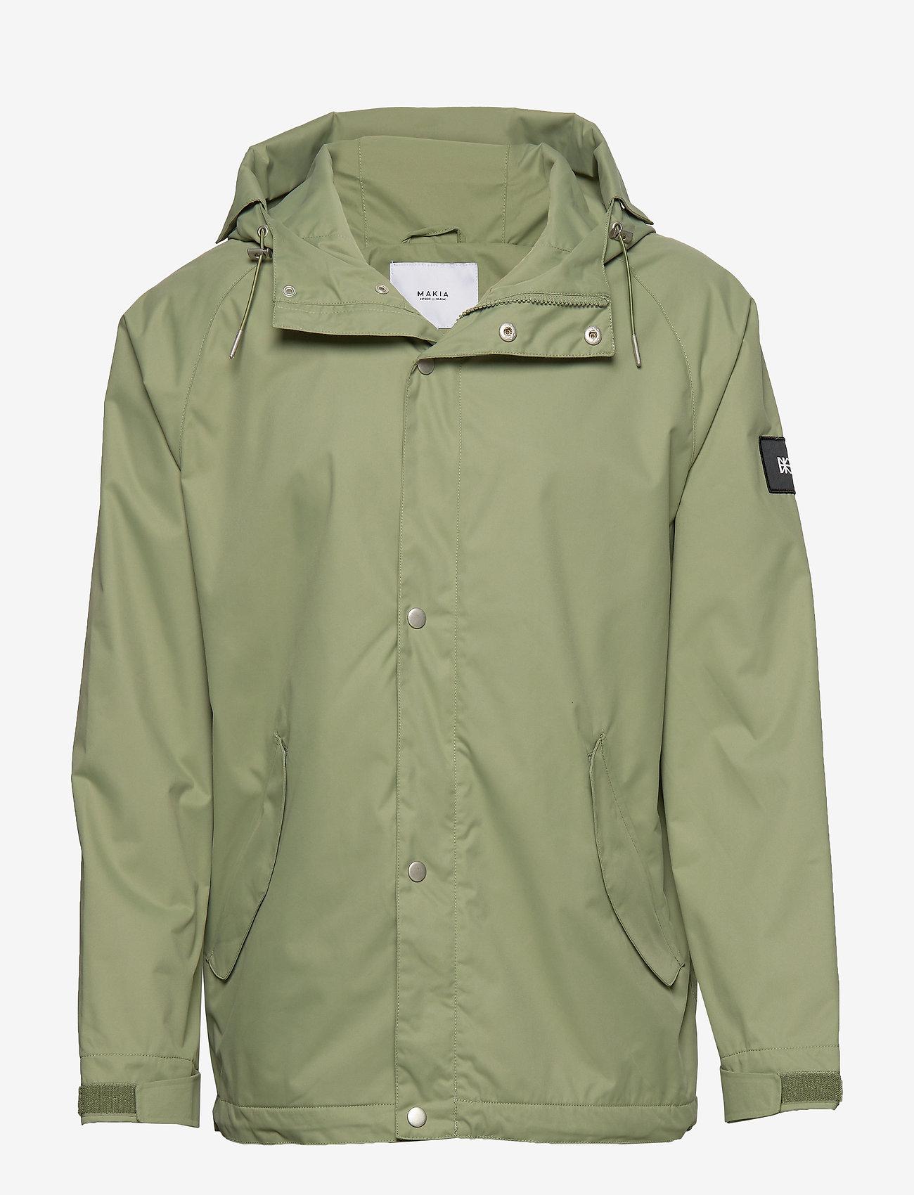 Makia - Region Jacket - sadetakit - olive - 1
