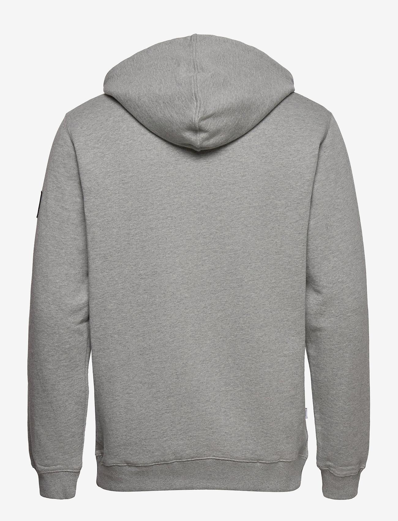 Symbol Hooded Sweatshirt (Grey) (57.85 €) - Makia MbD1i