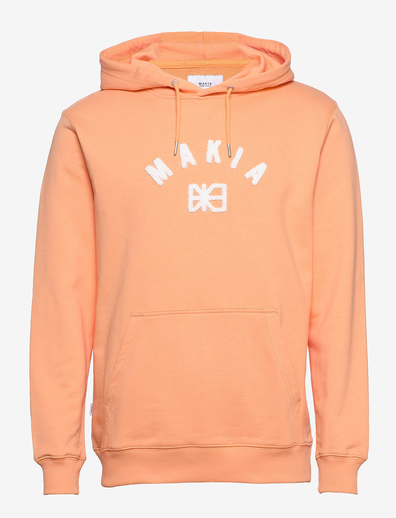 Makia - Brand Hooded Sweatshirt - hoodies - peach - 1