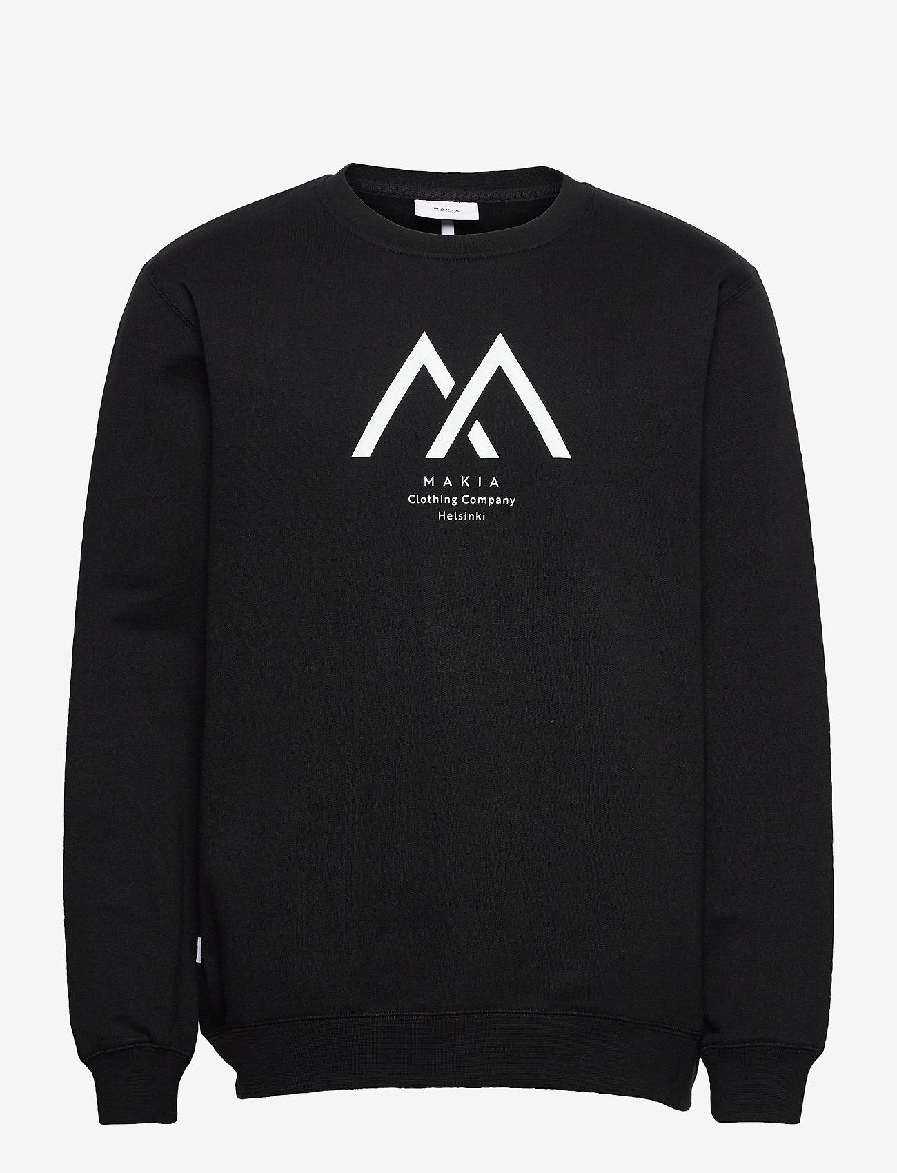 Makia - Seafarer Light Sweatshirt - truien - black - 0