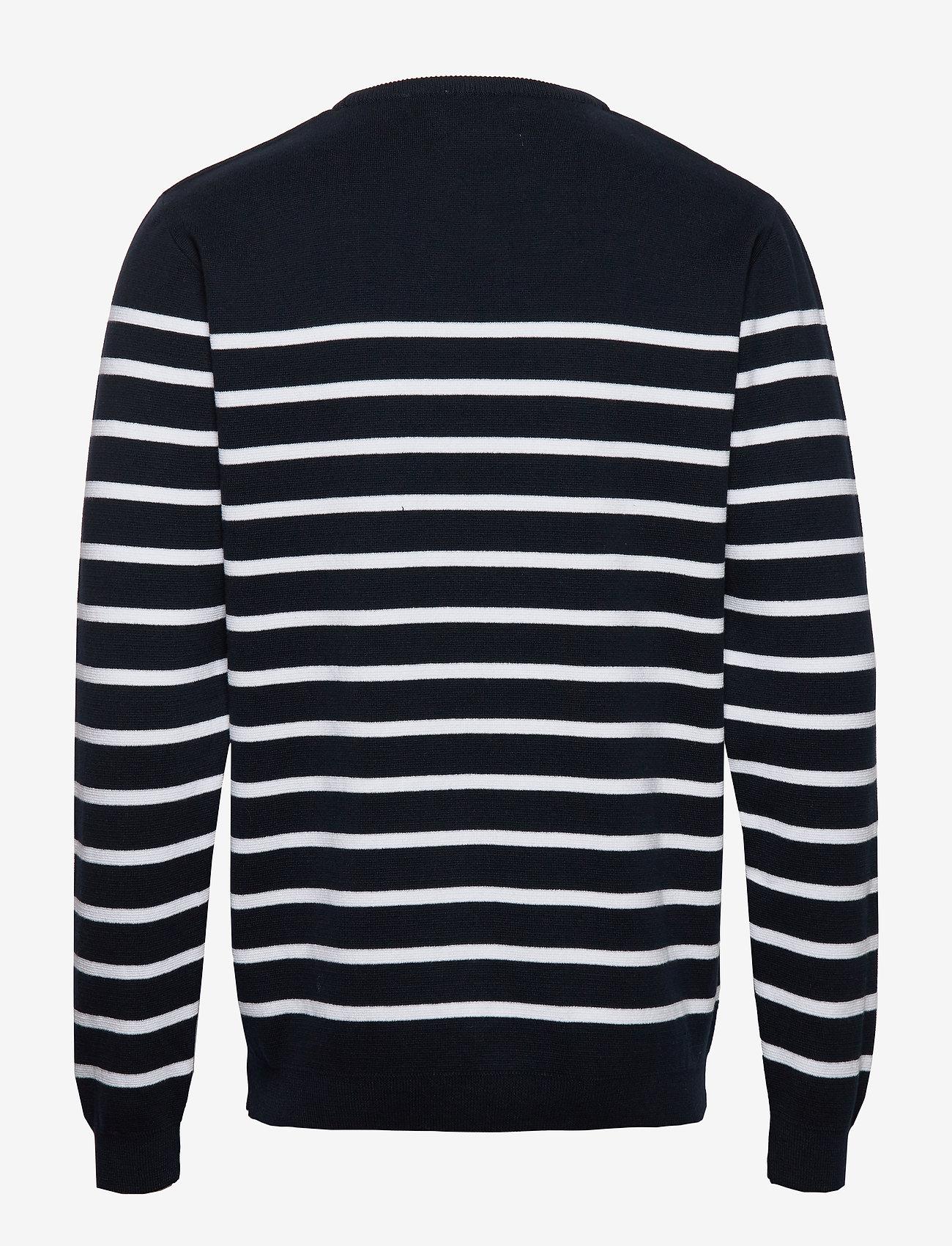 Makia Coastal Knit - Strikkevarer DARK NAVY - Menn Klær