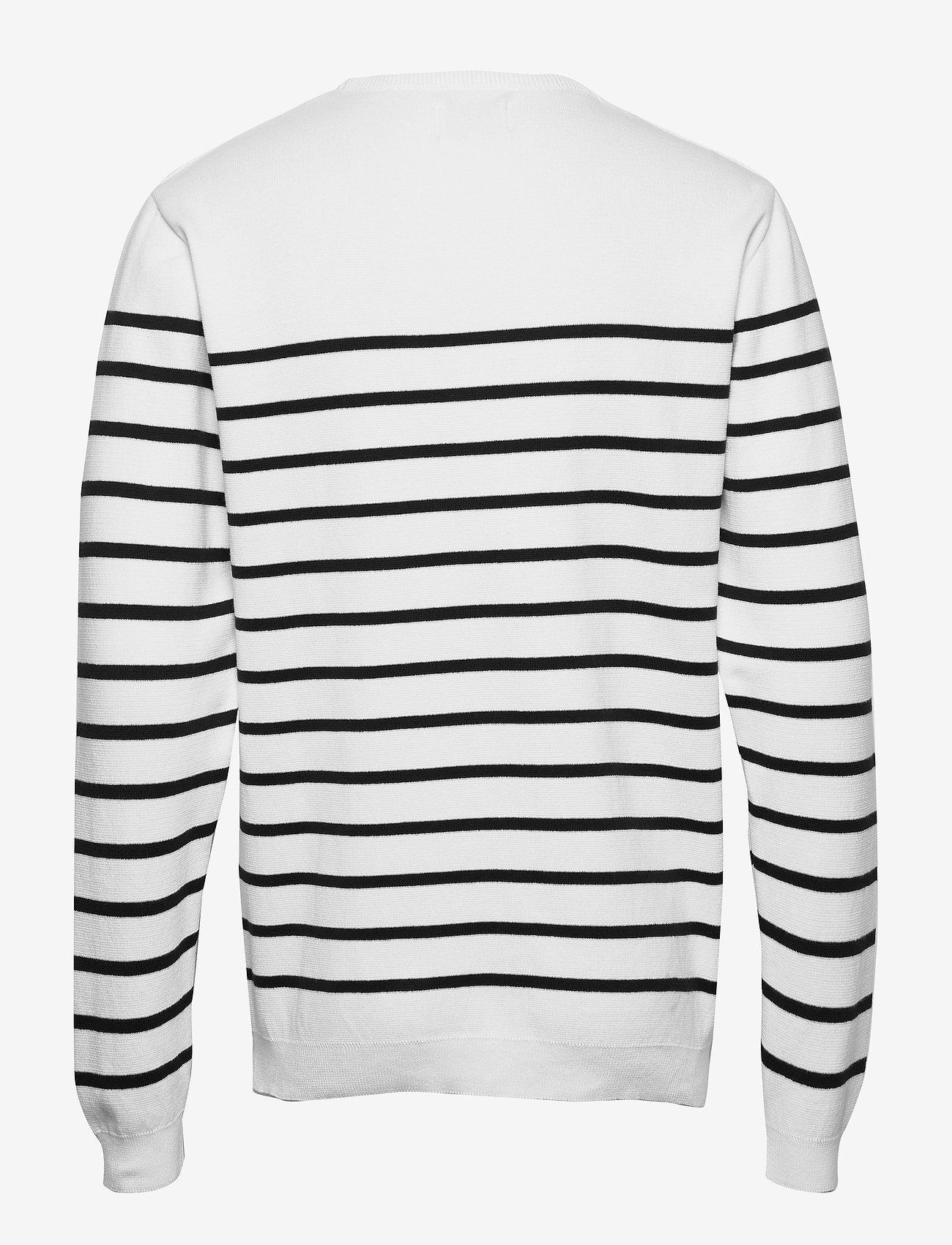Makia Coastal Knit - Strikkevarer WHITE - Menn Klær