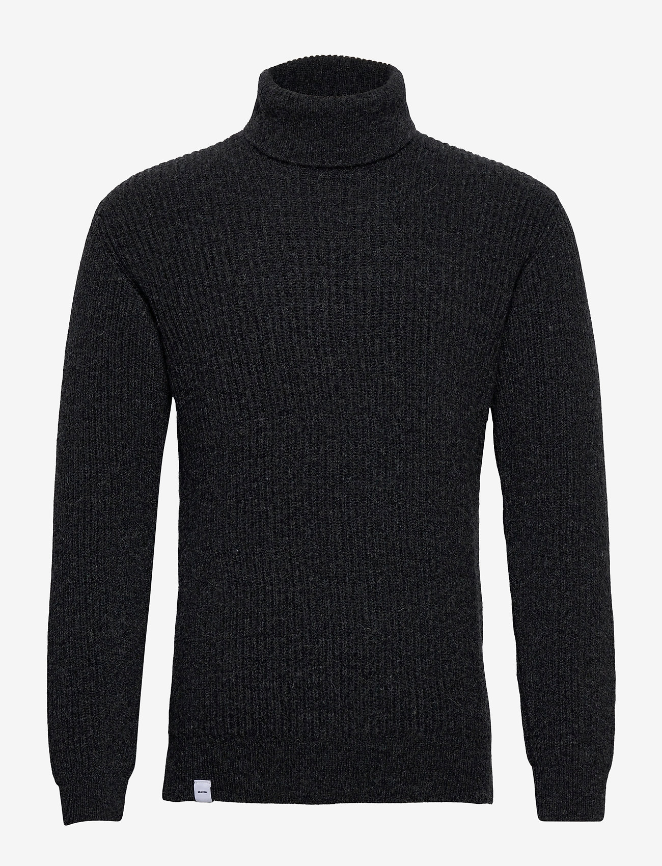 Makia Isle Knit - Strikkevarer DARK GREY - Menn Klær