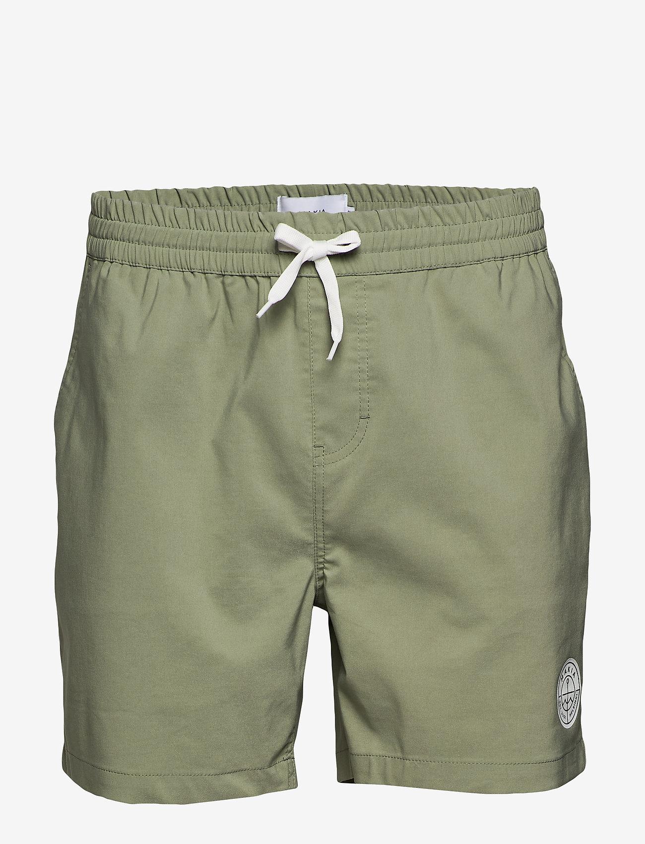 Makia - Scope Hybrid Shorts - shorts - olive - 0